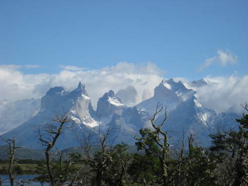 Incredible scenery in Torres del Paine National Park
